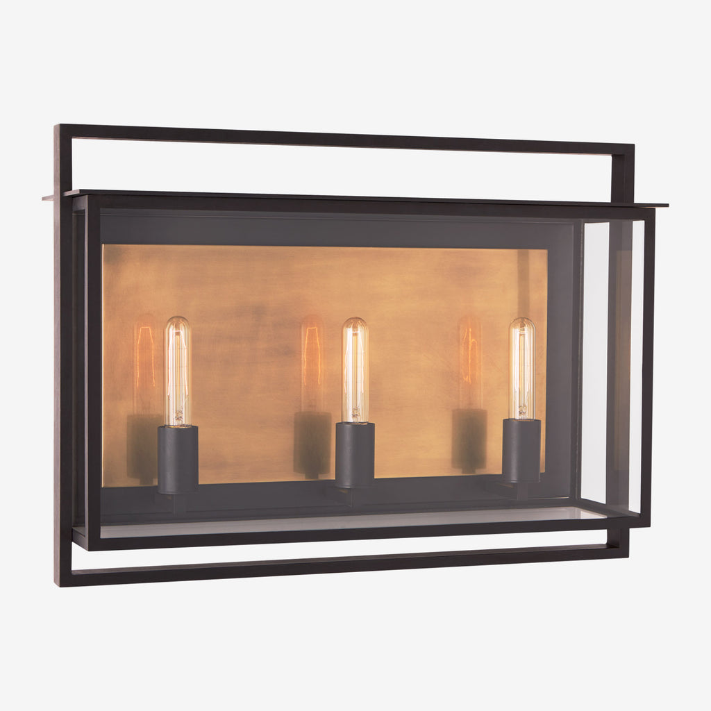 Halle Medium Wide Wall Lantern
