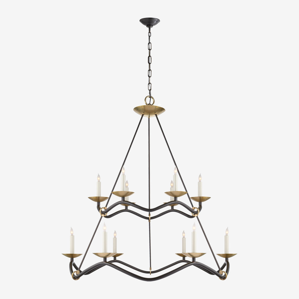 Choros Two-Tier Chandelier