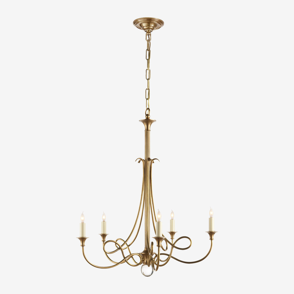 Double Twist Chandelier