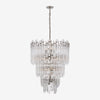 Adele Three-Tier Waterfall Chandelier