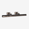 Cabinet Maker's Picture Light Double Arm
