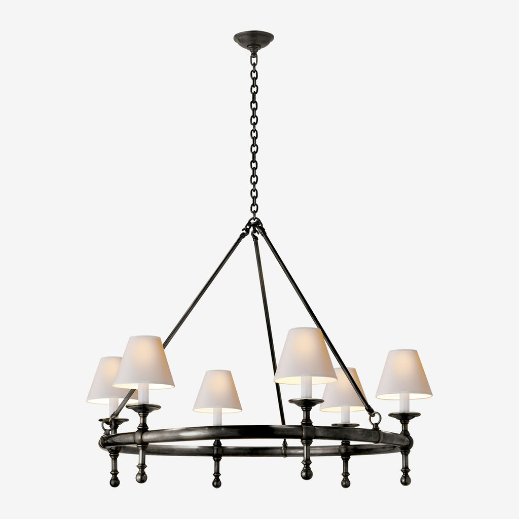 Classic Ring One-Tier Chandelier
