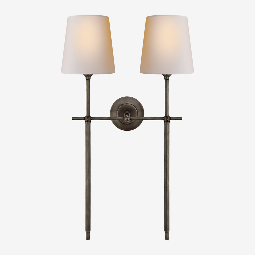 Bryant Large Double Tail Sconce