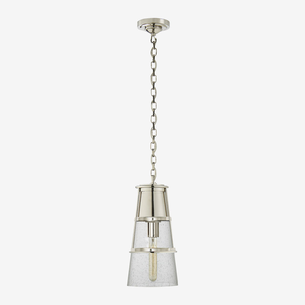 Robinson Pendant (Seeded or Clear Glass)