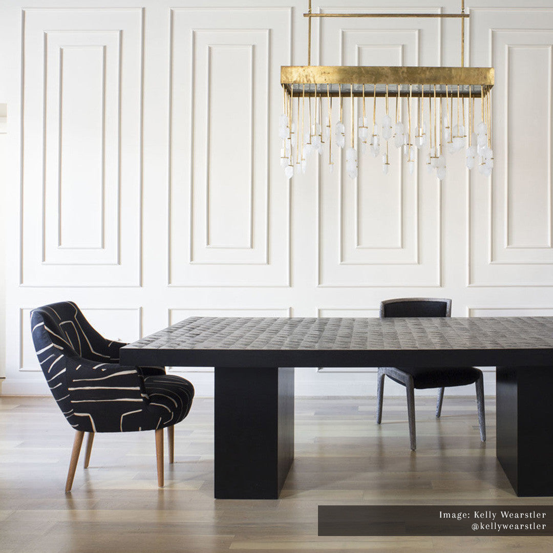 Halcyon Linear Chandelier The Montauk Lighting Co