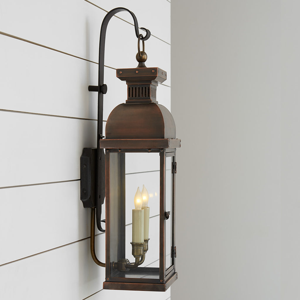 Suffork Scroll Arm Lantern