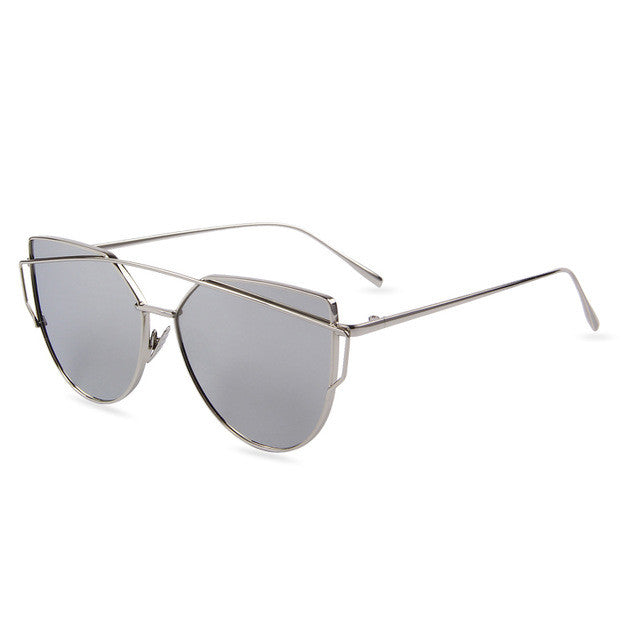 Summer 2017 Classic Sunglasses (Silver/Gray) - Juicy Beach Wear