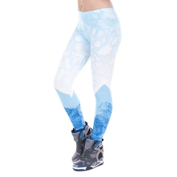 Glacier Full Length Leggings - Juicy Beach Wear