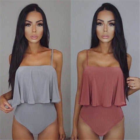 Elegant Tummy Covering 1 Piece Swimsuit - Juicy Beach Wear