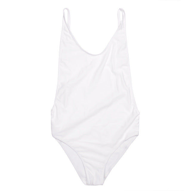 Elegant & Simple 1 Piece Bathing Suit - Juicy Beach Wear