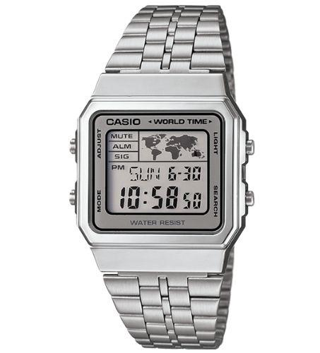 Casio A500WA-7DF Size 39mm