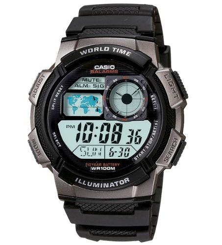 Casio AE-1000W-1BVDF Size 44mm