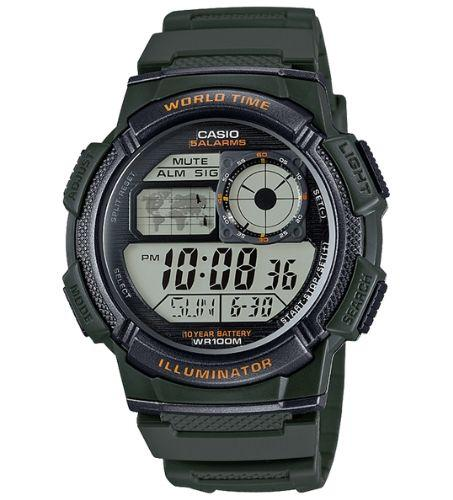 Casio AE-1000W-3AVDF Size 44mm