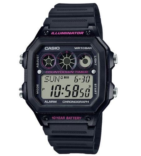 Casio AE-1300WH-1A2VDF Size 42mm