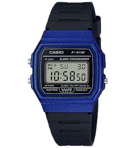 Casio F-91WM-2ADF Size 38mm