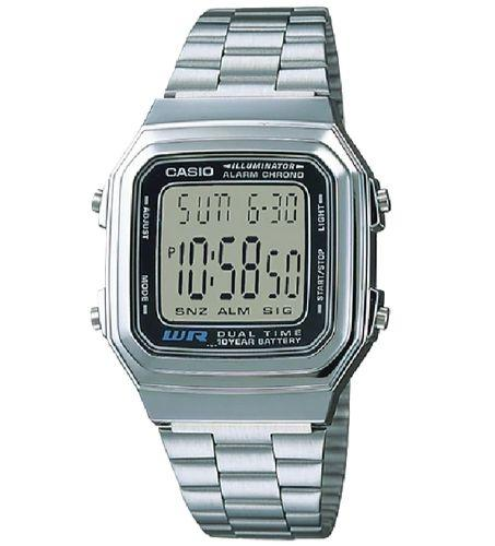 Casio A178WA-1ADF Size 39mm