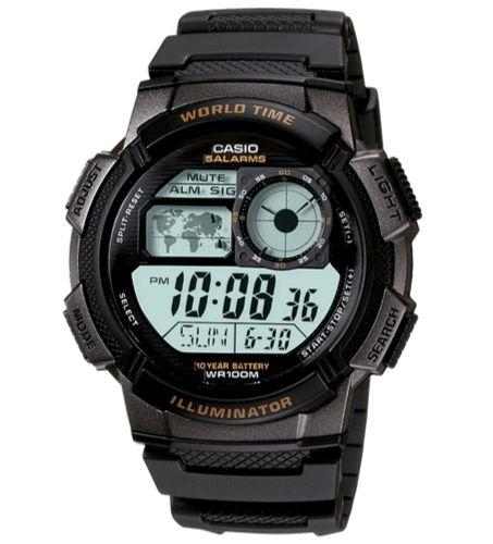 Casio AE-1000W-1AVDF Size 44mm