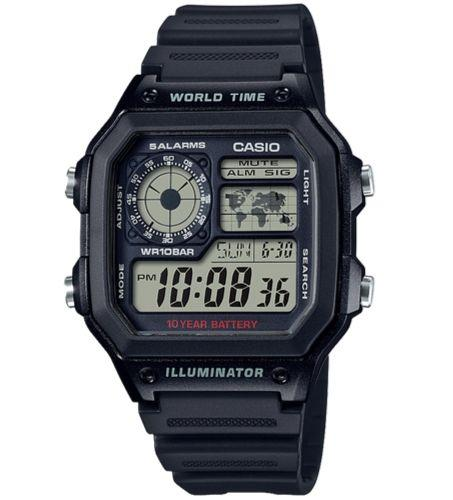 CASIO AE-1200WH-1AVDF Size 42mm