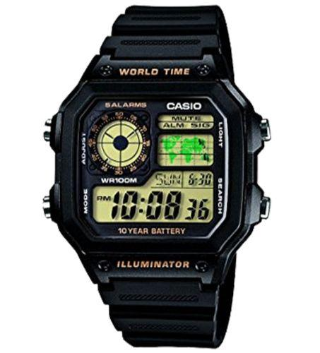 CASIO AE-1200WH-1BVDF Size 42mm