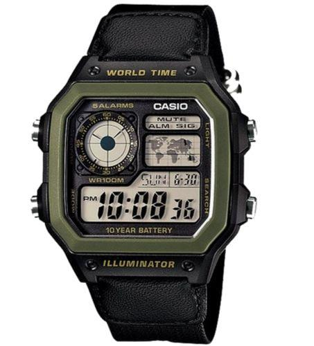 CASIO AE-1200WHB-1BVDF Size 42mm