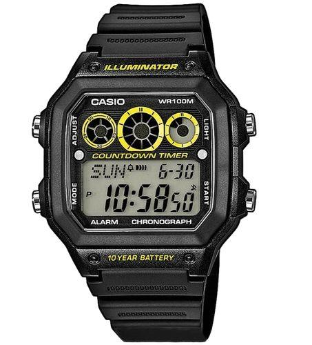 Casio AE-1300WH-1AVDF Size 42mm