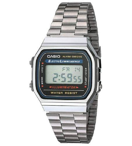 Casio A168WA-1WDF Size 38mm