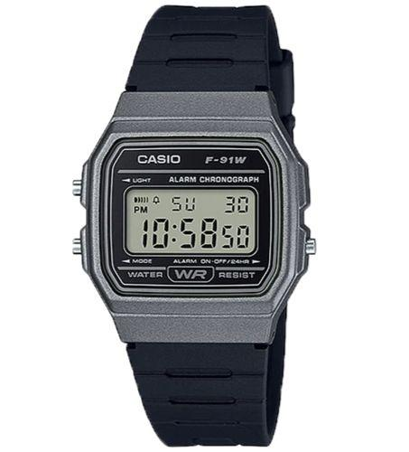 Casio F-91WM-1BDF Size 38mm