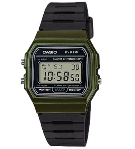 Casio F-91WM-3ADF Size 38mm