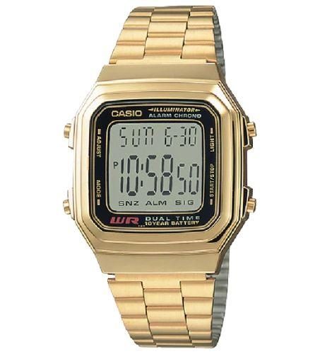 Casio A178WGA-1ADF Size 39mm
