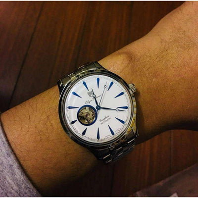 Đồng Hồ Nam Olym Pianus OP99141-71AGS-T Automatic Dây Thép Size 41 Mm