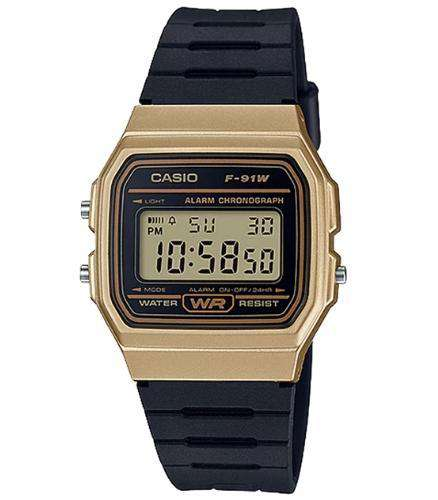 Casio F-91WM-9ADF Size 38mm
