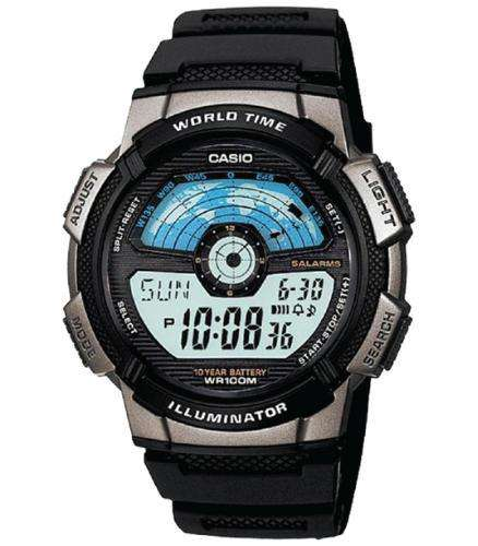 Casio AE-1100W-1AVDF Size 44mm