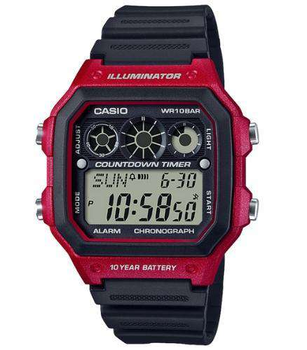 Casio AE-1300WH-4AVDF Size 42mm