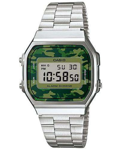 Casio A168WEC-3DF Size 39mm