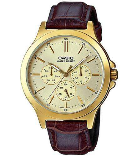 Casio MTP-V300GL-9AUDF Size 38mm