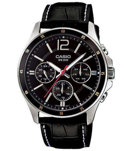Casio MTP-1374L-1AVDF Size 43mm