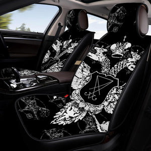 "The Sigil of Lucifer (""Seal of Satan"") Car Seat Covers"