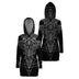 Baphomet Goat Head Satanic Hooded Dress