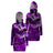 Purple Skull Hooded Dress