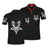Pentagram Skull Polo Shirt