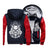 Satanic Skull Fleece Zipper Jacket