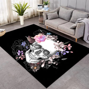 Sugar Skull Area Rugs