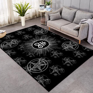 The Leviathan's Cross Area Rugs
