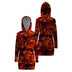 Lava & Skull Hooded Dress