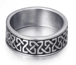 Ring Stainless Steel Celtic Knot