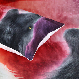 Wolves By Khalia Art Bedding Set