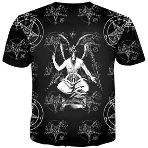 The Baphomet Satanic T-Shirt