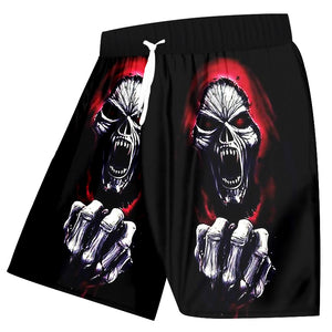 Slayer Skull Shorts
