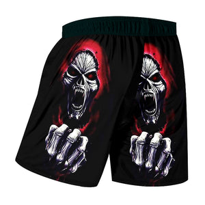 3D Shorts Slayer Skull