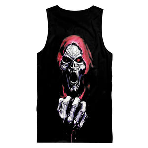 Slayer Skull Tank Top Sleeveless